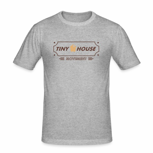 TinyHouse - Männer Slim Fit T-Shirt