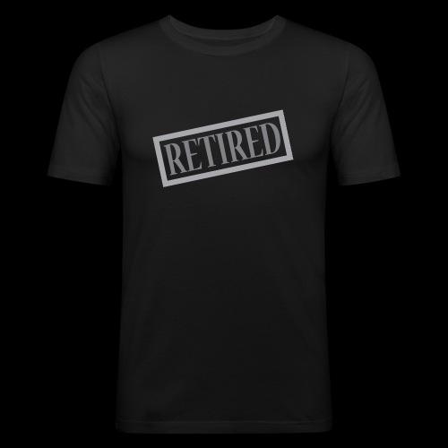 Retired - Camiseta ajustada hombre