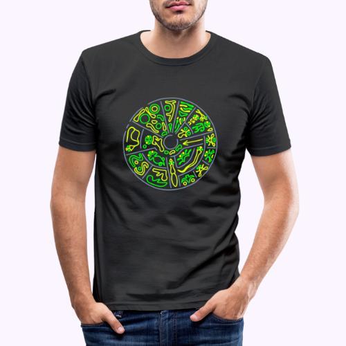 Disco Genetico - Camiseta ajustada hombre