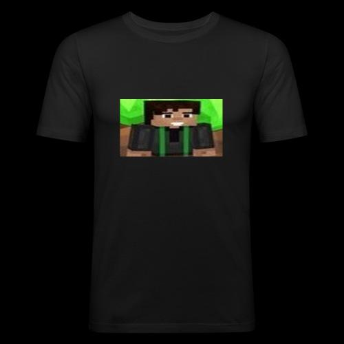 EnZ PlayZ Profile Pic - Men's Slim Fit T-Shirt