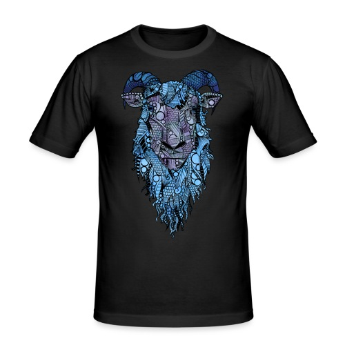 Sau - Slim Fit T-skjorte for menn