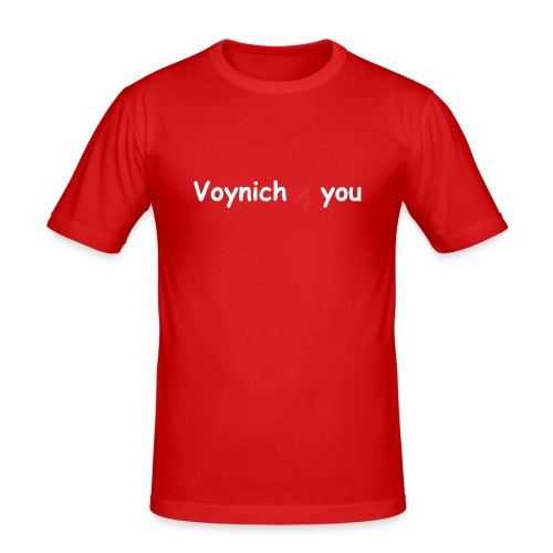 voynich4you 2 - Männer Slim Fit T-Shirt