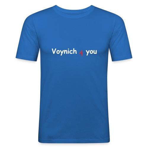voynich4you 2 - Männer Slim Fit T-Shirt