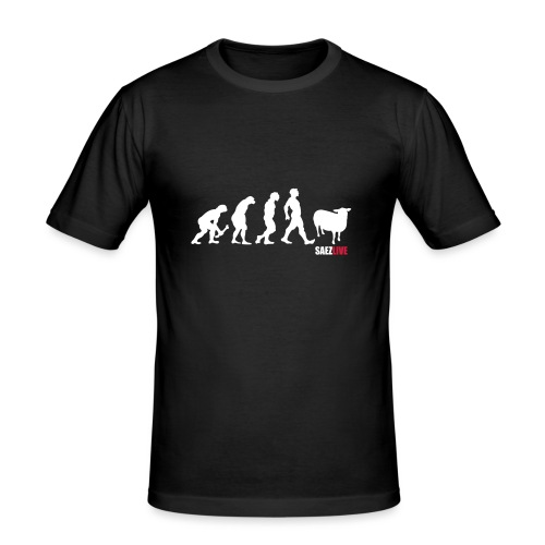 J'accuse (version light, par parek) - T-shirt près du corps Homme