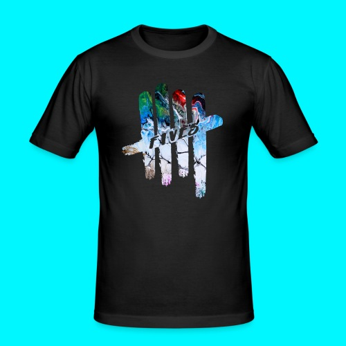 FIVES abstarct - T-shirt près du corps Homme
