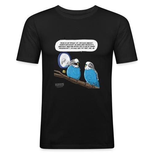Quantensittich - Männer Slim Fit T-Shirt