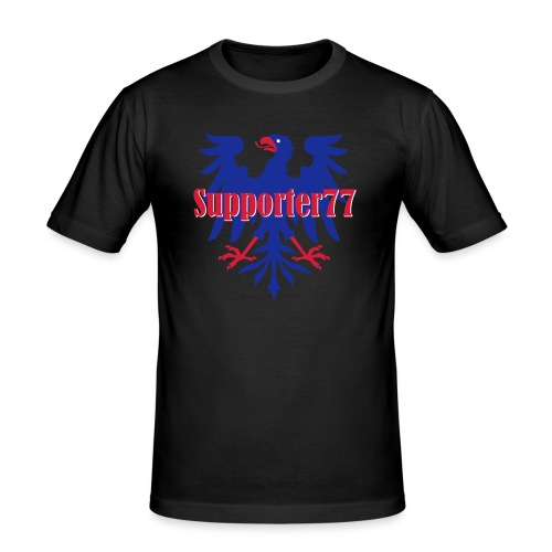 Supporter77 - Slim Fit T-shirt herr