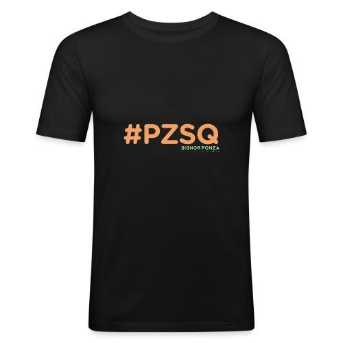 PZSQ - Maglietta aderente da uomo