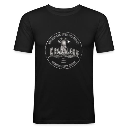 Kranzlers Rockin´All Over The World Vintage - Männer Slim Fit T-Shirt