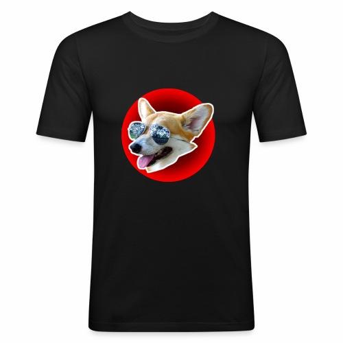 Cool Corgi - T-shirt près du corps Homme