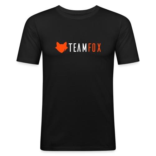 Team Fox Logo - Men's Slim Fit T-Shirt