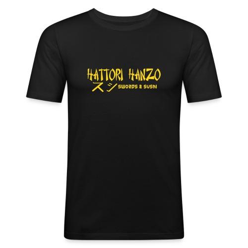 hattorihanzo - Männer Slim Fit T-Shirt