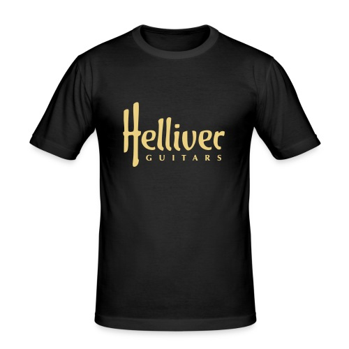 Helliver Guitars Logo - Männer Slim Fit T-Shirt