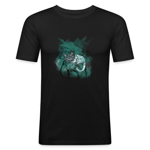 Cat chester - Camiseta ajustada hombre