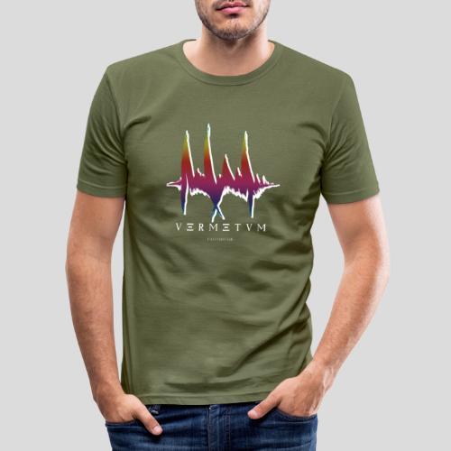 VERMETUM WHITE EDITION - Männer Slim Fit T-Shirt