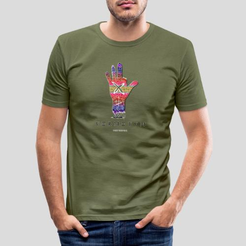VERMETUM DONT BE SCARED EDITION - Männer Slim Fit T-Shirt