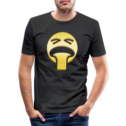 vomiting - Slim Fit T-shirt herr