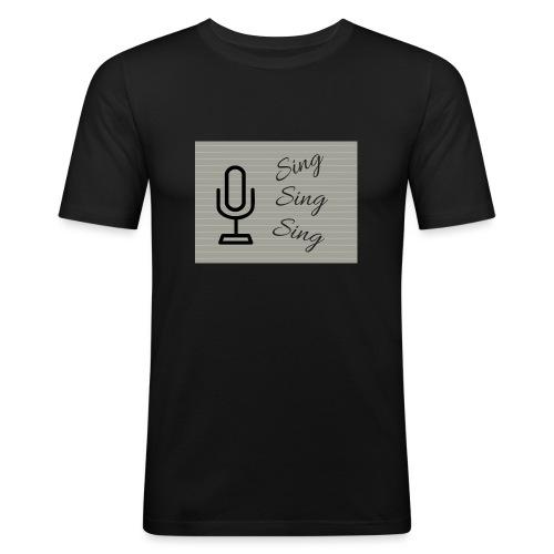 Sing Sing Sing - Men's Slim Fit T-Shirt
