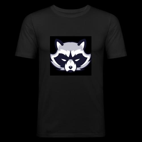 WaschbeerKopf Logo :) - Männer Slim Fit T-Shirt