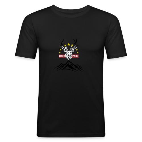 Deer Park - Men's Slim Fit T-Shirt