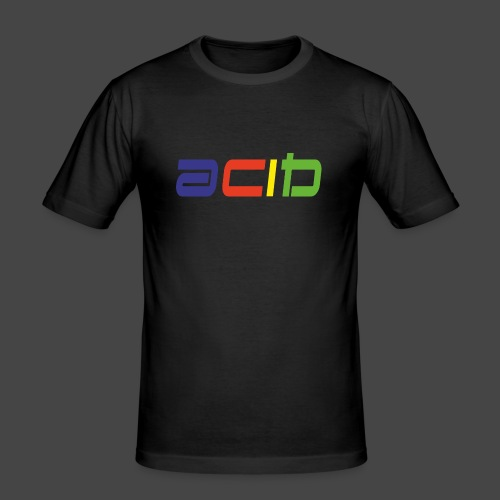 acide - T-shirt près du corps Homme