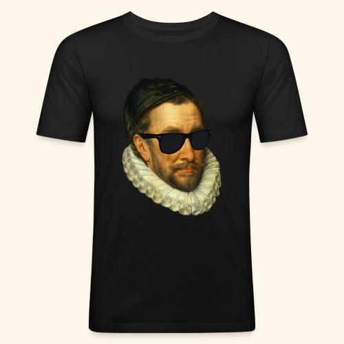 Fijn Uitgedoste Barbaar (zonder tekst) - slim fit T-shirt