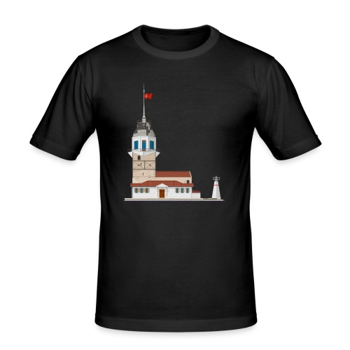 Kiz Kulesi - Mannen slim fit T-shirt
