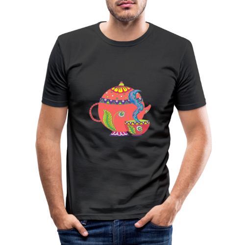 L'heure du thé - T-shirt près du corps Homme