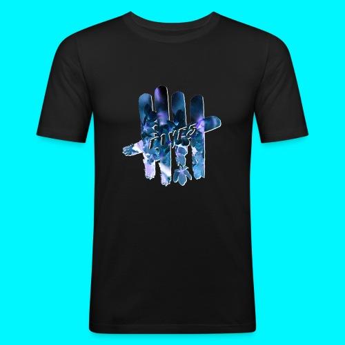 FIVES space flowers - T-shirt près du corps Homme