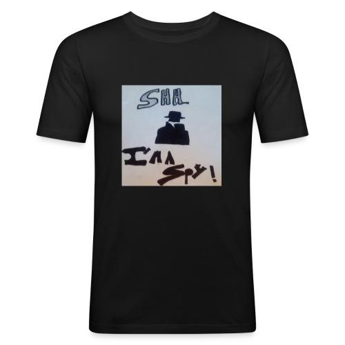 Shhhhhhh... Im a spy - Men's Slim Fit T-Shirt