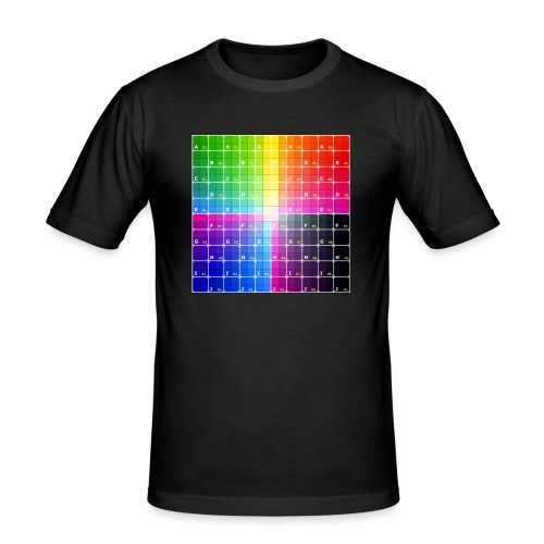 patron - Camiseta ajustada hombre