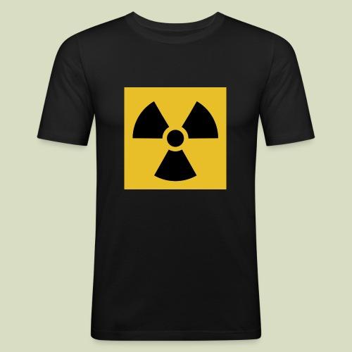 Radiation warning - Miesten tyköistuva t-paita