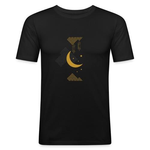 Ramadan Kareem Muslim holy month ilustration - Men's Slim Fit T-Shirt