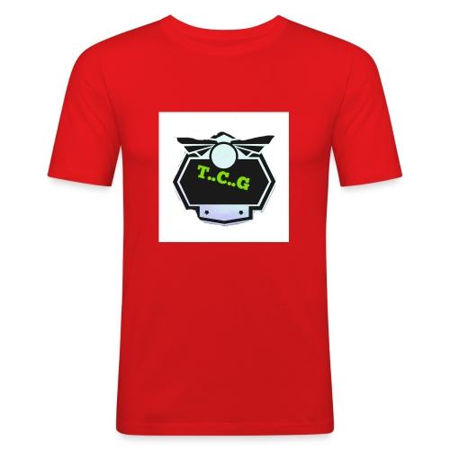 Cool gamer logo - Men's Slim Fit T-Shirt
