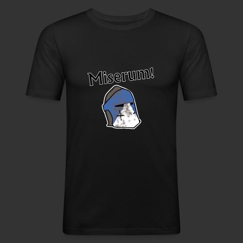 Warden Cytat Miserum! - Obcisła koszulka męska