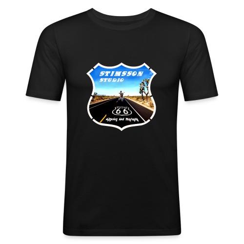 STIMSSON STUDIO - Slim Fit T-shirt herr