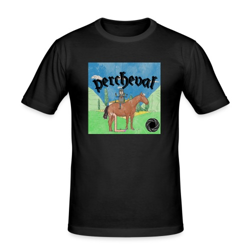Percheval - T-shirt près du corps Homme