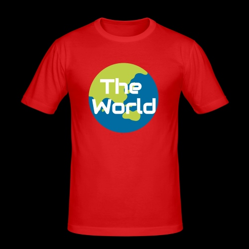 The World Earth - Herre Slim Fit T-Shirt