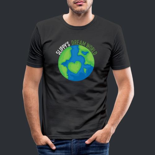 Slippy's Dream World - Men's Slim Fit T-Shirt