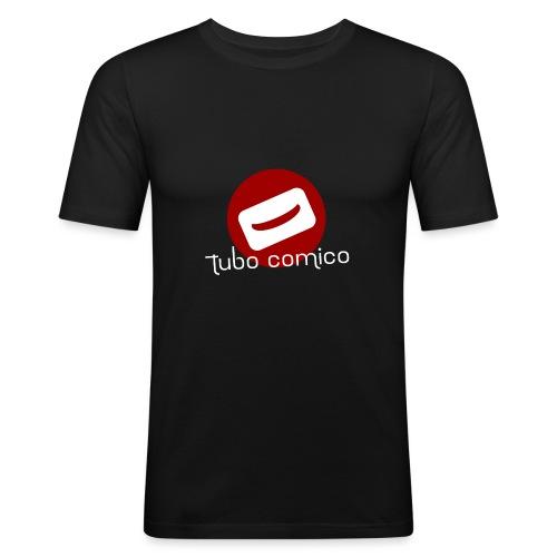 Tubo Comico - maglia premium lunga - Maglietta aderente da uomo