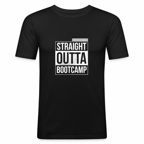 Suoraan Bootcampilta - Miesten tyköistuva t-paita