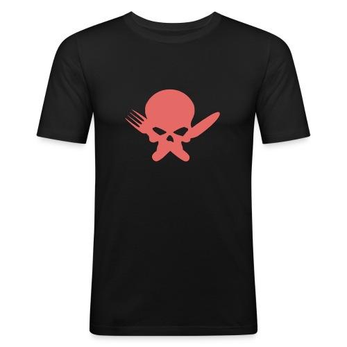 Skull Collection | FatLadFood - Men's Slim Fit T-Shirt