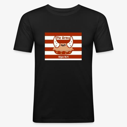 Pie Army - Men's Slim Fit T-Shirt