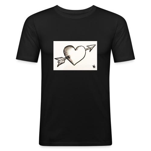 Break Heart - T-shirt près du corps Homme