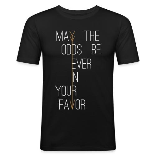 Hunger Games - Mannen slim fit T-shirt