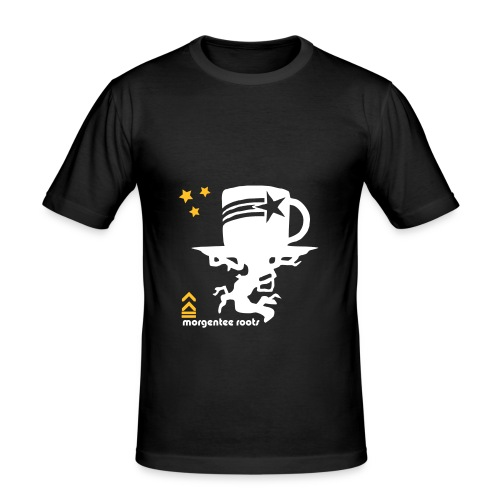 Back to the roots tee - Männer Slim Fit T-Shirt