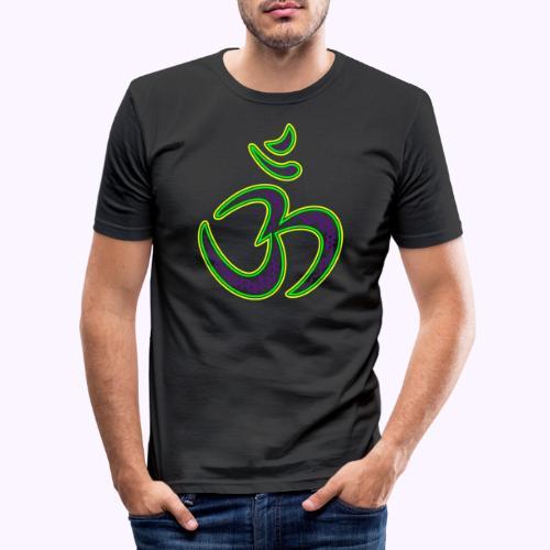 Aum Neo Tech - Miesten tyköistuva t-paita