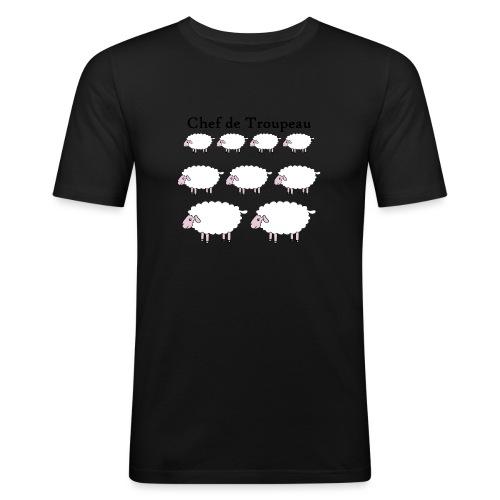 chef-de-troupeau - T-shirt près du corps Homme