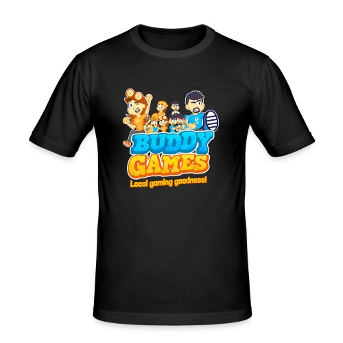 BuddyGames - Men's Slim Fit T-Shirt