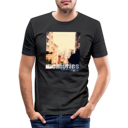MEMORIES of SAN FRANCISCO - Männer Slim Fit T-Shirt